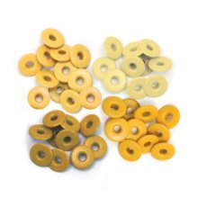 Люверсы We R Memory Keepers - Eyelets Wide 40шт - Yellow