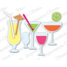 Нож IoStamps - Mixed Drinks Set - DIE185-H