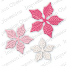 Нож IoStamps - Sm. Poinsettia Set - DIE322-J