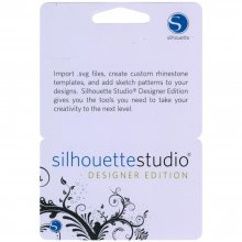 Silhouette Of America - Silhouette Studio Designer Edition Upgrade Card