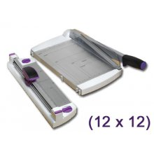 Резак Purple Cows 12-Inch Two-In-One Scrapbook Combo Trimmer