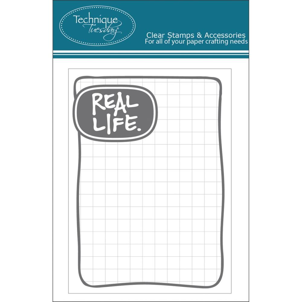 Набор журналлинга Technique Tuesday Real Life Story Cards - Gray
