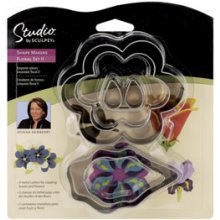 Формы для пластика Studio By Sculpey Shape Makers - Floral Set ll